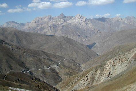 Zeravshan Valley, Penjikent, Tajikistan