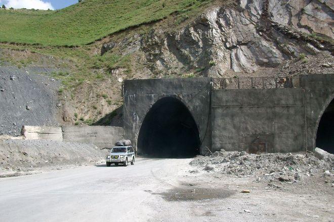Anzob Tunnel (Tunnel of Death), Dushanbe, Tajikistan