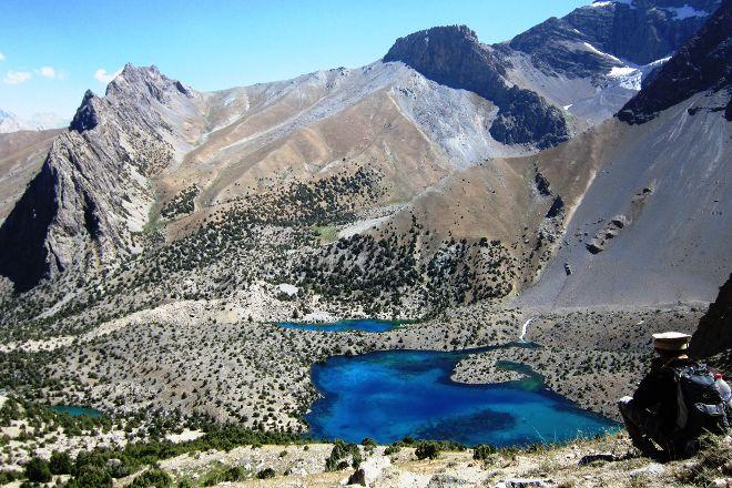Fann Mountains, Ayni, Tajikistan