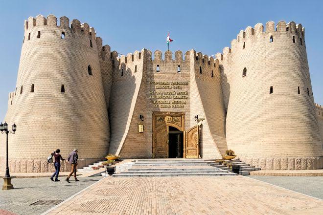 Khujand Fortress, Khujand, Tajikistan