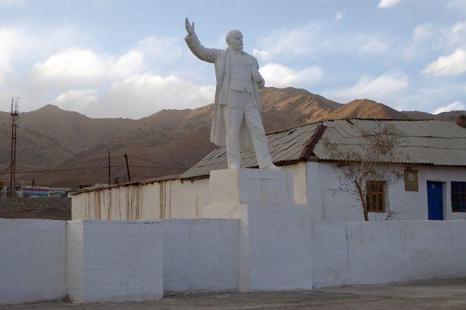 Lenin Statue, Murghab, Tajikistan