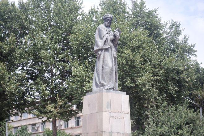 Monument to Abu Ali Ibn Sino (Avicenna), Dushanbe, Tajikistan