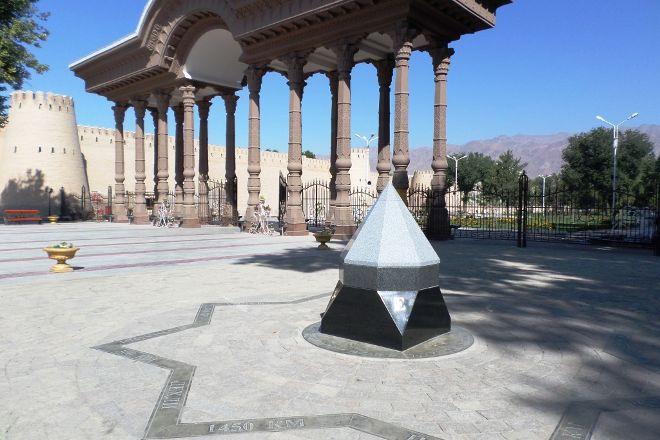 Park Kamal Khudzhandi, Khujand, Tajikistan