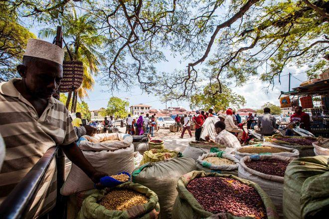 Darajani Bazaar, Stone Town, Tanzania