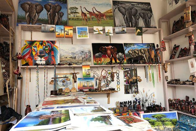 Mama Africa Giftshop, Moshi, Tanzania