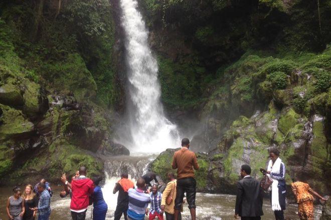 Mount Meru Waterfall, Arusha, Tanzania