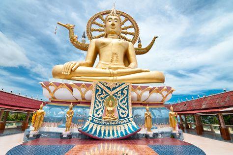Big Buddha, Bophut, Thailand