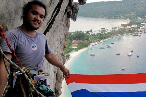 Krabi Rock Climbing, Railay Beach, Thailand