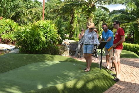 Phuket Adventure Mini Golf and Off Course Restaurant & Bar, Bang Tao Beach, Thailand