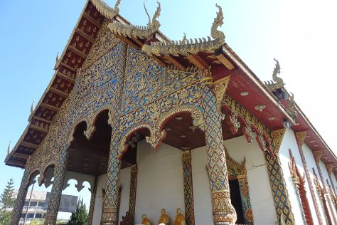 Wat Kukut, Lamphun, Thailand