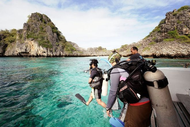 Anti Gravity Divers, Ko Lanta, Thailand