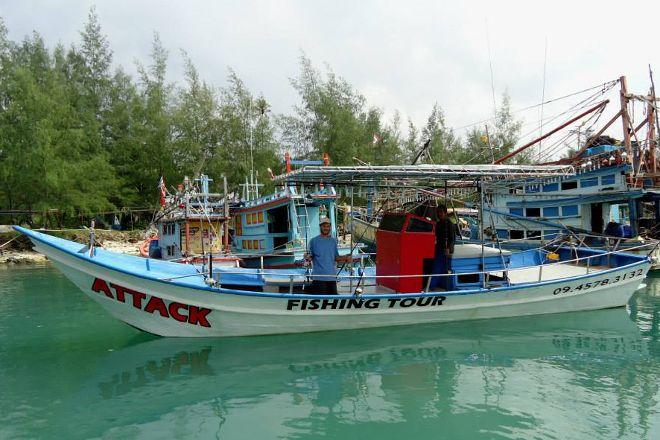 Attack Fishing Tour, Ko Pha Ngan, Thailand