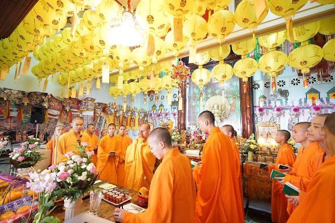 Bhoman Khunaram Temple, Bangkok, Thailand