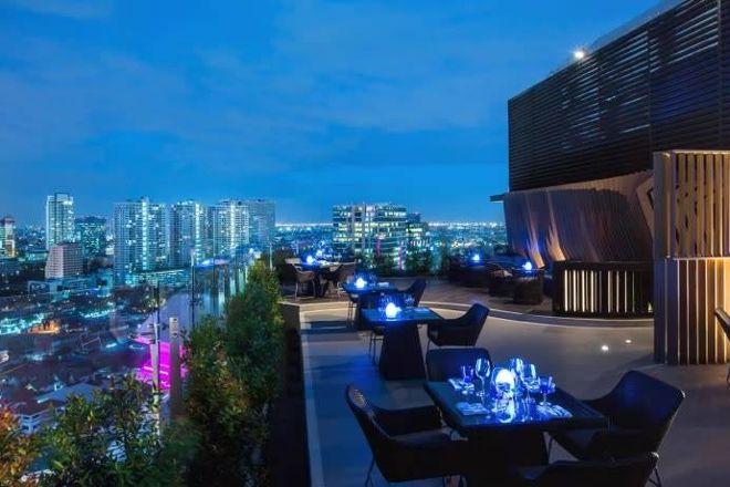 Centara Grand at Central Plaza Ladprao Lobby Lounge, Bangkok, Thailand