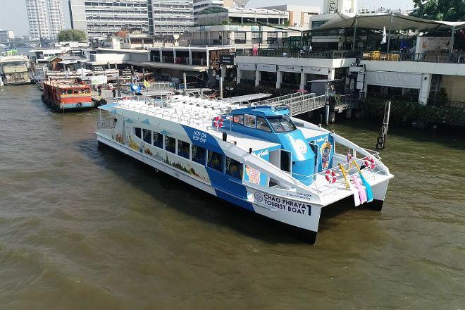 Chao Phraya Express Boat, Bangkok, Thailand