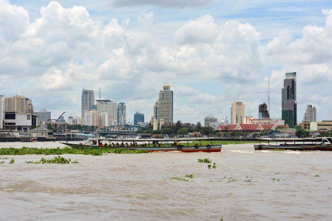 Chao Praya River, Ayutthaya, Thailand