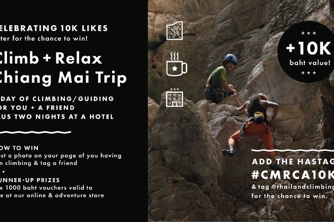 Chiang Mai Rock Climbing Adventures, Chiang Mai, Thailand