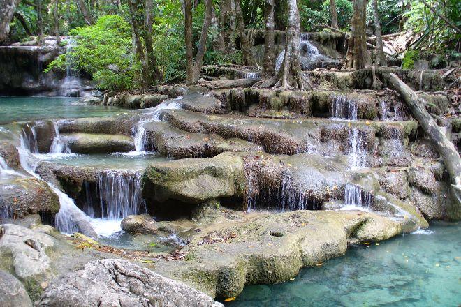 Erawan Waterfalls, Erawan National Park, Thailand