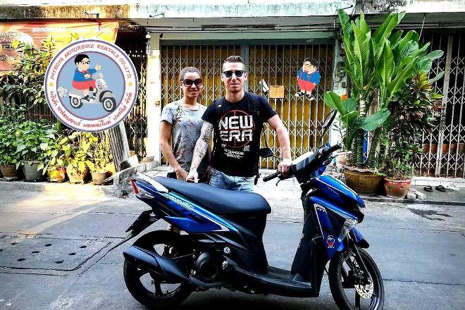 Fatboy's Motorbike Rentals Sathorn and Silom, Bangkok, Thailand