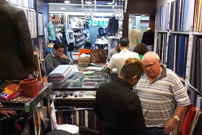 GMC Tailors at MBK, Bangkok, Thailand