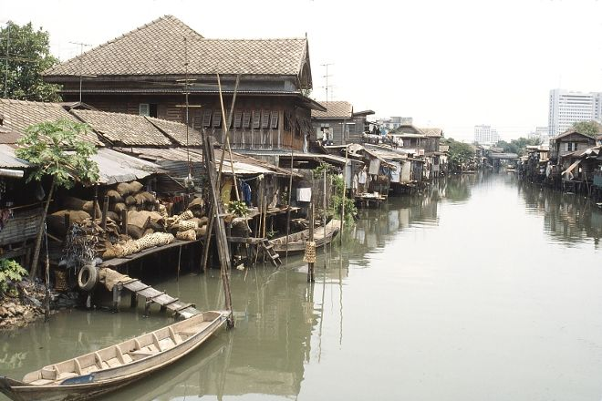 Klongs, Bangkok, Thailand