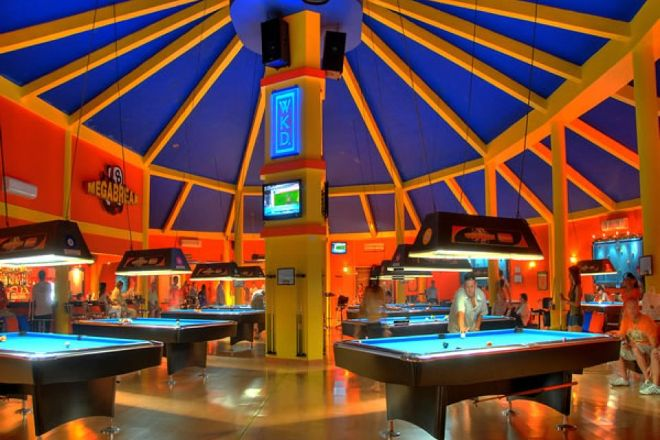 Megabreak Pool Hall, Pattaya, Thailand