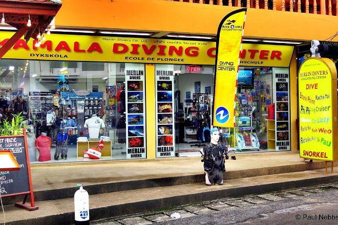 Merlin Divers - Kamala Diving Center, Kamala, Thailand