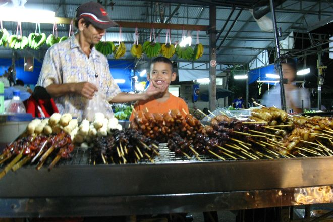 Naka Market, Phuket Town, Thailand