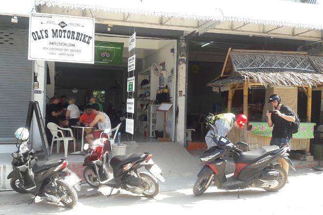Oli's Motorbike Rentals, Koh Tao, Thailand