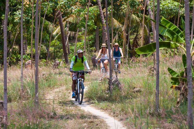 Phangan Bicycle Tours, Ko Pha Ngan, Thailand