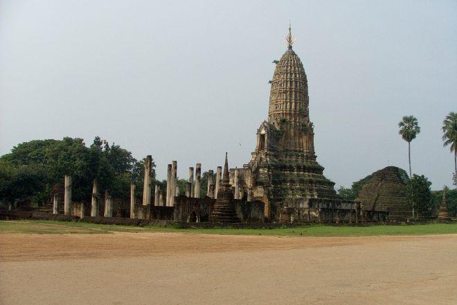 Phra Si Ratana Temple, Sukhothai, Thailand