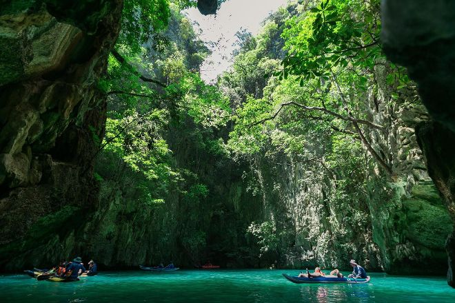 Sea Cave Canoe, Phuket, Thailand