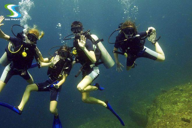 SSS Phuket Dive & Surf Center, Kata Beach, Thailand