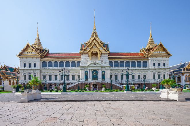 The Chakri Group (Phra Thinang Chakri Maha Prasat), Bangkok, Thailand