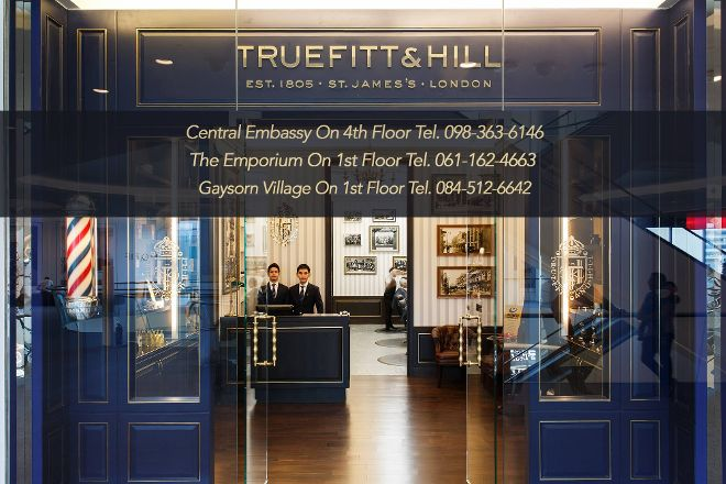 Truefitt & Hill, Bangkok, Thailand