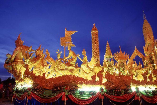 Ubon Ratchathani Candle Festival, Ubon Ratchathani, Thailand