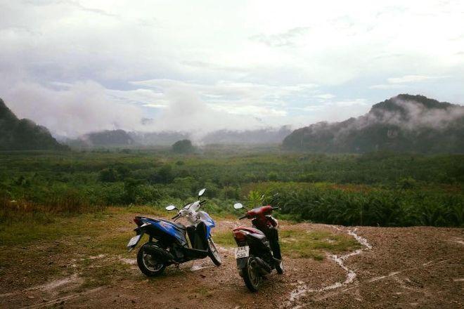 X Motorbike Rentals, Surat Thani, Thailand