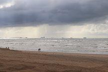 Het Strand Van Noordwijk Aan Zeedd, Noordwijk, The Netherlands