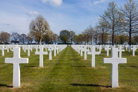 Netherlands American Cemetery, Margraten, The Netherlands