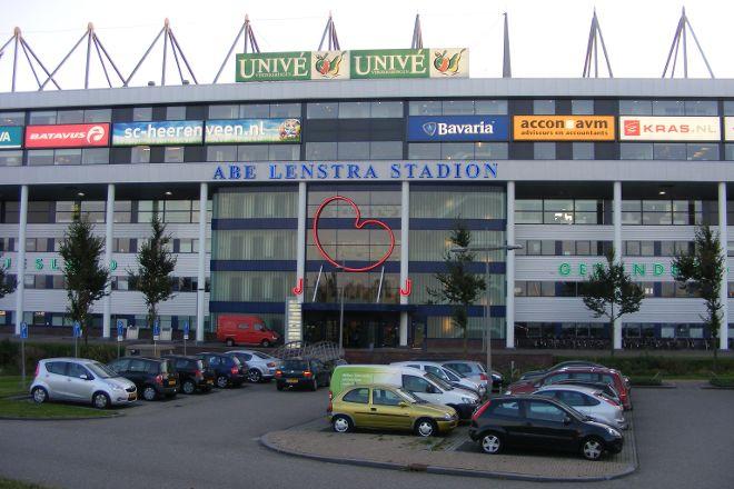 Abe Lenstra Stadion, Heerenveen, The Netherlands