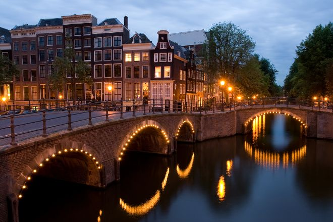 Bridge of 15 Bridges, Amsterdam, The Netherlands