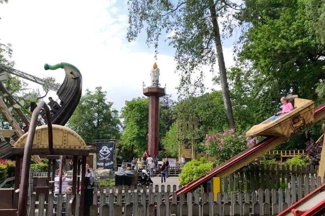 Duinrell Amusement Park, Wassenaar, The Netherlands