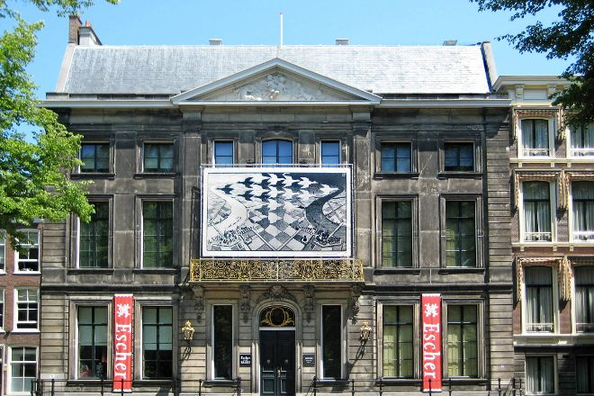 Escher in Het Paleis (Escher in the Palace), The Hague, Holland