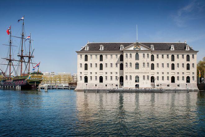 Het Scheepvaartmuseum  The National Maritime Museum, Amsterdam, The Netherlands
