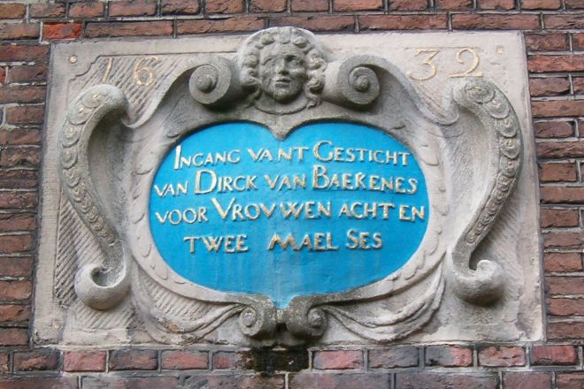 Hofje van Bakenes, Haarlem, The Netherlands
