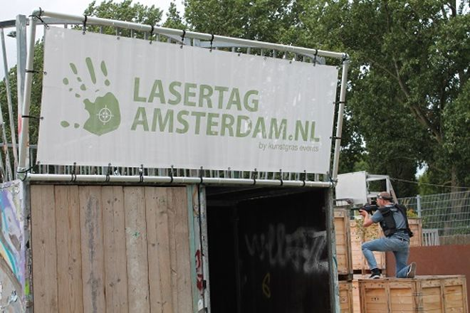 Laser Tag Amsterdam, Amsterdam, The Netherlands