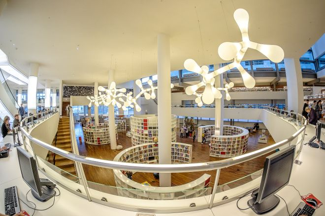 OBA Library of Amsterdam, Amsterdam, The Netherlands