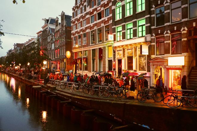 Red Light District, Amsterdam, Holland