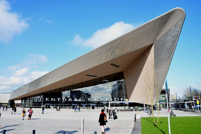 Rotterdam Centraal Station, Rotterdam, The Netherlands