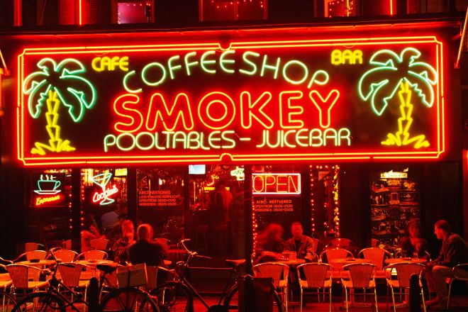 Smokey Coffeeshop, Amsterdam, The Netherlands